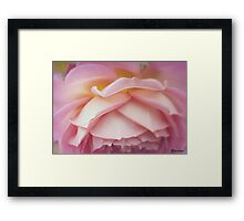 Falling Into You Framed Print