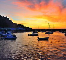 Gorey Harbour Sunrise by Mark Bowden