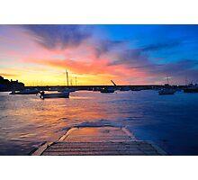 Gorey Harbour II Photographic Print