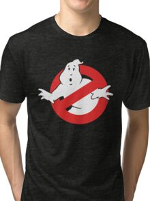 Ain't Afraid of No Ghost Tri-blend T-Shirt