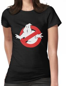 Ain't Afraid of No Ghost Womens Fitted T-Shirt
