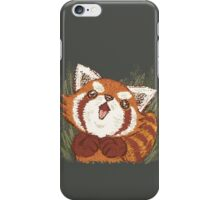 Joy of Red panda iPhone Case/Skin