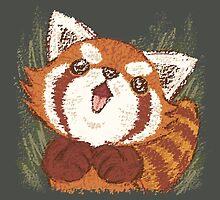 Joy of Red panda by Toru Sanogawa