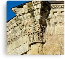 Medieval Stonework Alet-les-Bains Canvas Print