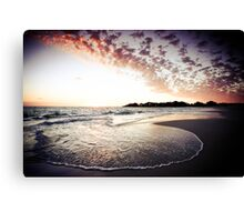 Sea Swirl Canvas Print