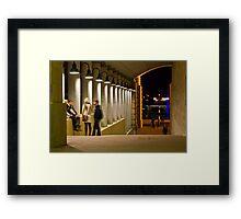 An evening at Bond University Framed Print