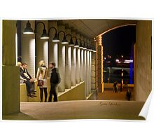 An evening at Bond University Poster