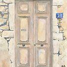 Old Door, Lyon, France by ian osborne
