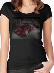 Norm Corte's 1934 Ford Coupe Women's Fitted Scoop T-Shirt