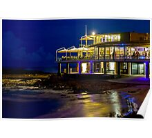 Currumbin SLSC by night Poster