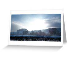 Snowy Buxton Greeting Card