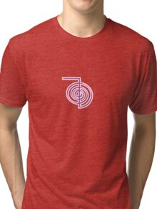 Choku Rei - Reiki Power Symbol Tri-blend T-Shirt