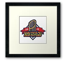Chicago Cub - Our Fate, Our Future  Framed Print