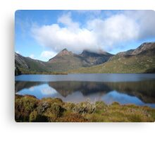 Cradle Mountain reflections. Tasmania Australia Canvas Print