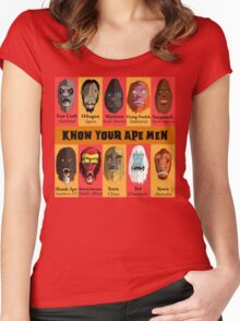 Know Your Ape Men Women's Fitted Scoop T-Shirt