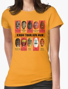 Know Your Ape Men Womens Fitted T-Shirt