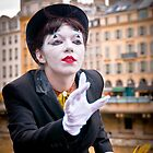 River Seine Mime by Mark Knighton