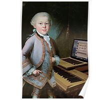 young Mozart at the Organ Poster