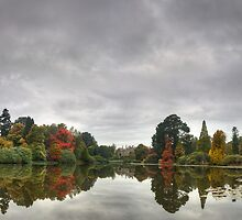 Sheffield Park Pano - Early Autumn by Bob Culshaw