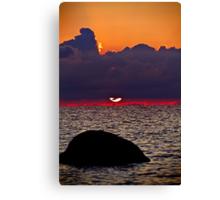 Sunset Heaven. Canvas Print