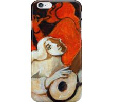 Lute and Flute iPhone Case/Skin