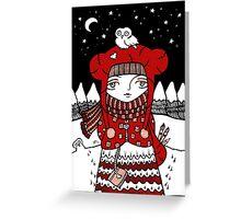 Lumi Pollo Greeting Card