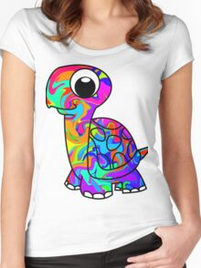 Colorful Tortoise Women's Fitted Scoop T-Shirt