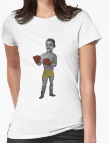 Vintage Boxer Womens Fitted T-Shirt