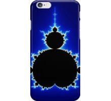 Mandelbrot Set - Blue iPhone Case/Skin