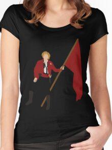Enjolras Women's Fitted Scoop T-Shirt