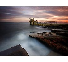 Divers Platform - Salthill Co. Galway Ireland Photographic Print