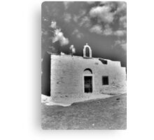 Little Creten  Church Canvas Print