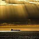 Shafts of Yellow Rays by Jill Fisher