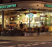 Starbucks Kensington by Eric Flamant