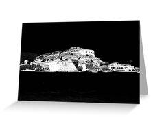 Spinalonga Island Greeting Card