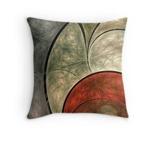 Etched Articulated Nonsense Throw Pillow