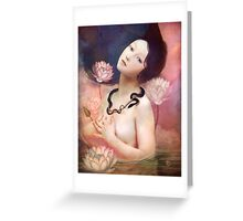 The Serpent Lake Greeting Card