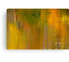 Abstract Autumn  Canvas Print