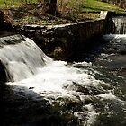Carlisle Barracks Waterfalls by Jean Macaluso