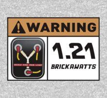 1.21 BRICKAWATTS Flux Capacitor edition by studio-88