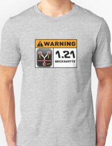 1.21 BRICKAWATTS Flux Capacitor edition T-Shirt