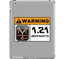 1.21 BRICKAWATTS Flux Capacitor edition iPad Case/Skin