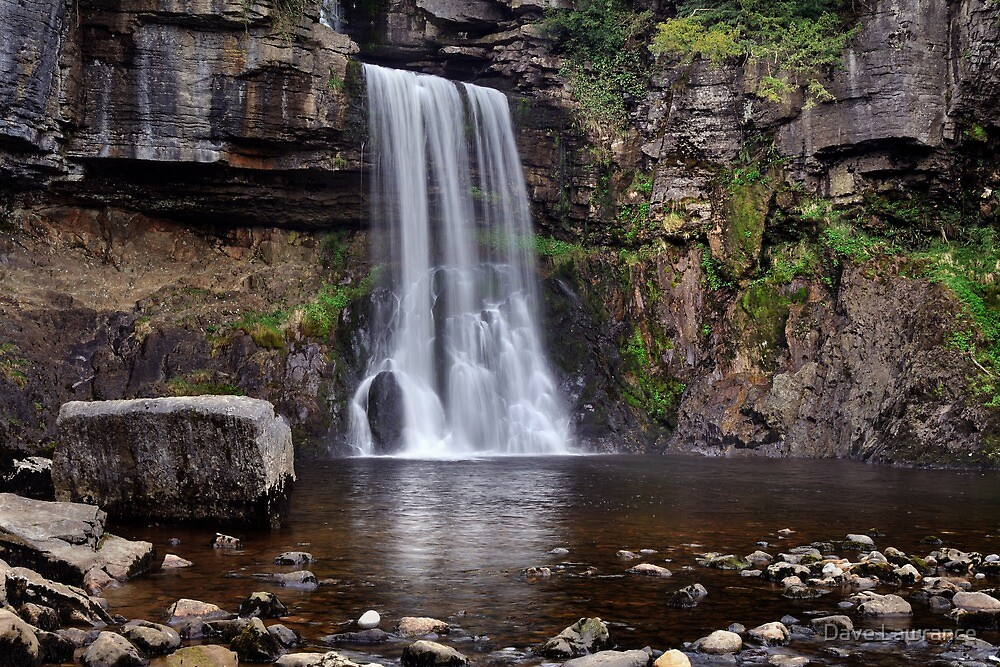 Thornton Force waterfall - The Yorkshire Dales by Dave Lawrance