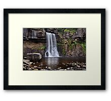 Thornton Force waterfall - The Yorkshire Dales Framed Print