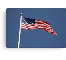 Carlisle Barracks US Flag Canvas Print