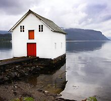 A Bright Little Boat House by SeeOneSoul
