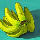 I'm a fan o' the banana by bernzweig
