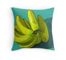 I'm a fan o' the banana Throw Pillow