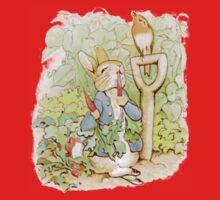 Peter Rabbit Steals Carrots Kids Tee