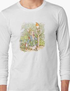 Peter Rabbit Steals Carrots Long Sleeve T-Shirt
